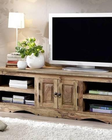 CASTLE TV stolík 150x45 cm, palisander