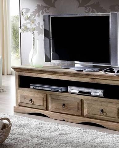 CASTLE TV stolík 150x55 cm, palisander