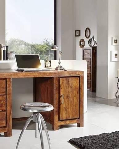 DAKOTA Písací stôl 150x75 cm, palisander