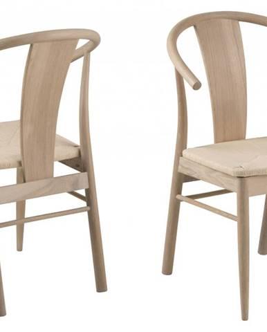 Jedálenská stolička JANIK, prírodná