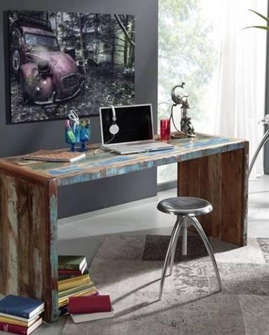 TESORI Písací stôl 170x65 cm, staré drevo