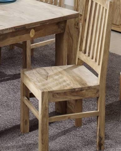 LIGHT WOOD Jedálenská stolička drevená, palisander