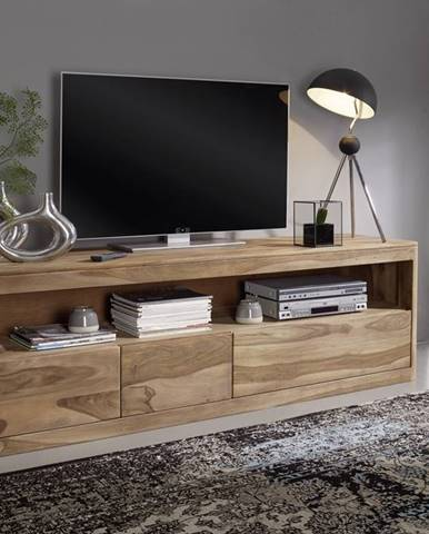 MONTREAL TV stolík 190x60 cm, palisander