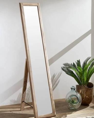 MONTREAL Zrkadlo 35x175 cm, indický palisander