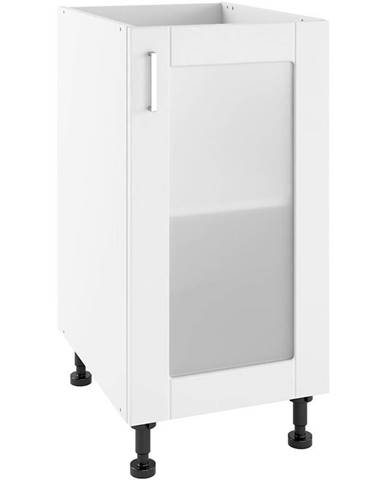 Kuchynská skrinka Milano Bianco Super Mat POW 40