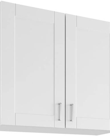 Skrinka do kuchyne Milano Bianco Super Mat UO 80/2