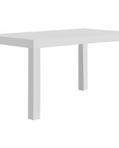 Jedálenský stôl 723 II 140x80+40 bia
