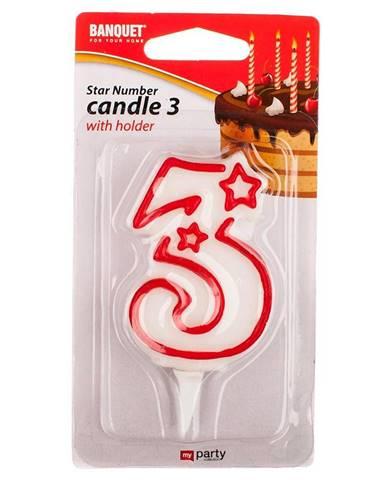 Narodeninová sviečka nr 3