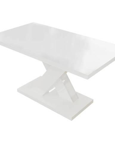 Konferenčný stolík Ksena biela lesk