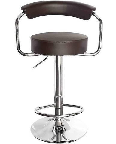 Barová stolička Strong hnedá 7121