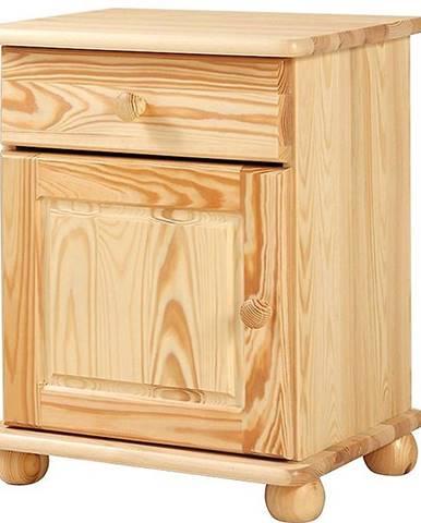 Nočný stolík 70 1+1 Borovica