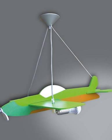 Lampa lietadlo L2-10 zelená LW2