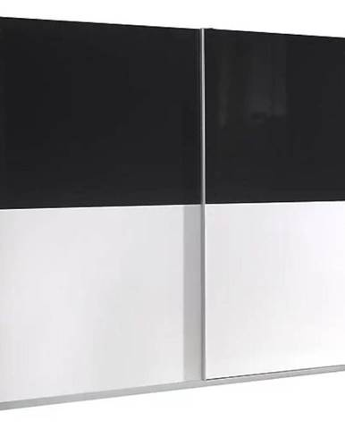 Skriňa Lux 6 244 cm biela  lesklá