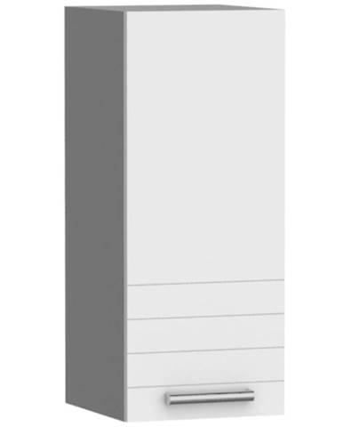 Kuchynská skrinka Paula biela W30 práva