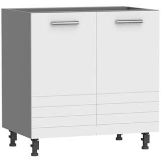 Kuchynská skrinka Paula biela D80