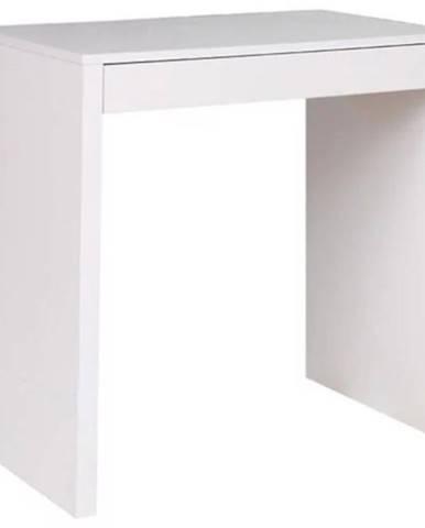Písací stôl Konsola biely