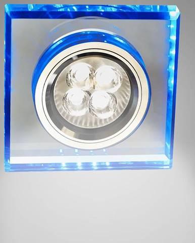 Stropné svietidló SS-22 CH/TR+BL štvorcový 2226934