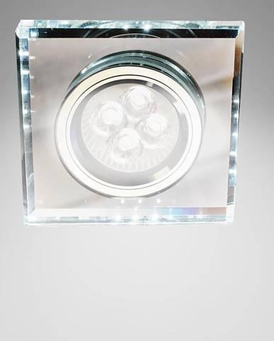 Stropné svietidló SS-22 CH/TR+WH štvorcový 2226927