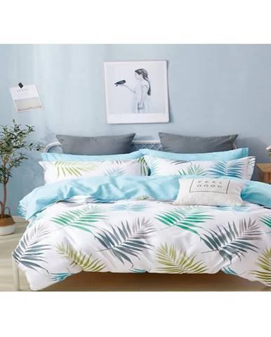 Bavlnená saténová posteľná bielizeň albs-01031b/2 140x200 lasher