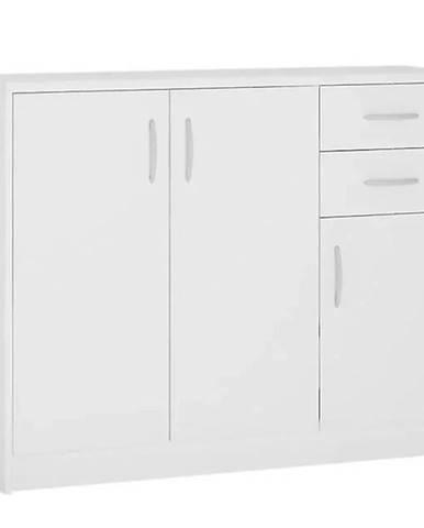 Komoda Sconto K1-3D-2S biely