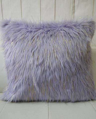 Obliečka na vankúš T180413-B 45x45 fialová