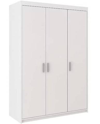 Skriňa Elena 133 cm biela