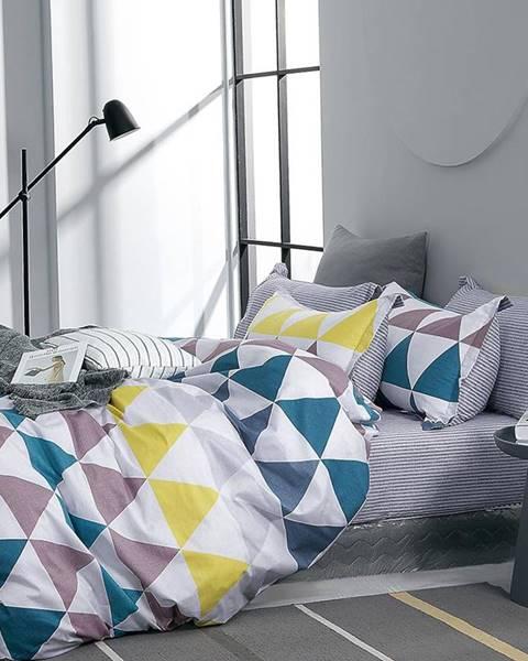 MERKURY MARKET Bavlnená saténová posteľná bielizeň ALBS-01226B 140X200