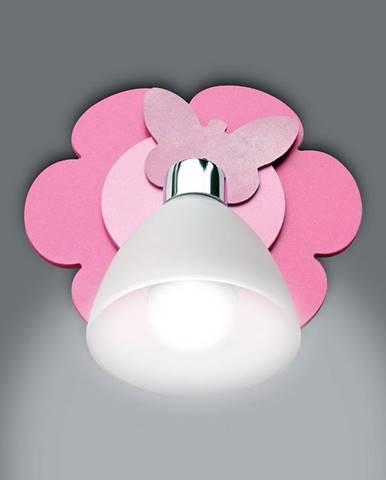 Lampa kvet K1 Z-20 ružová K1