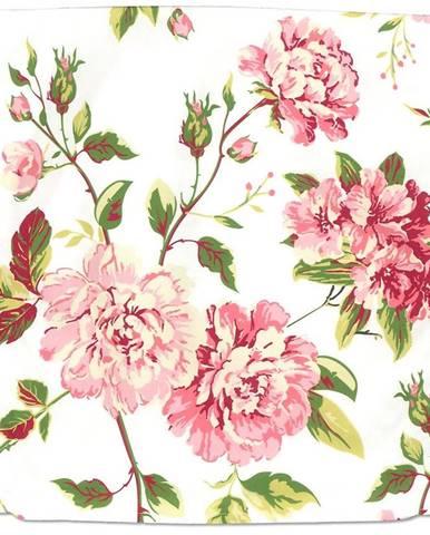 Obliečka na vankúš 40x40 0305-001-65 ružovo-biela
