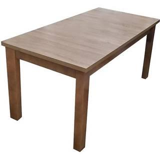 Jedálenský stôl ST28 160X80+40 L hľuzovka B