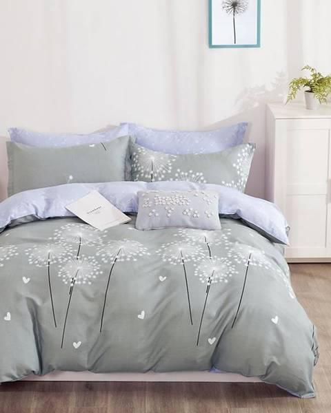 MERKURY MARKET Bavlnená saténová posteľná bielizeň ALBS-01190B/2 140x200