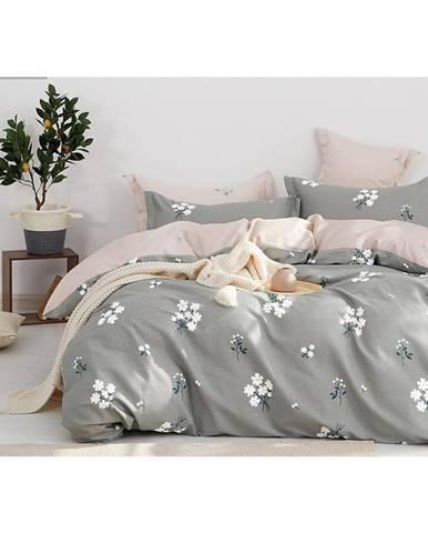 Bavlnená saténová posteľná bielizeň  ALBS-01164B/2 140X200 Lasher