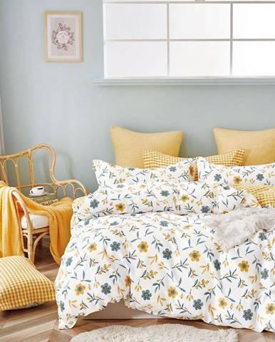 Bavlnená saténová posteľná bielizeň ALBS-01213B