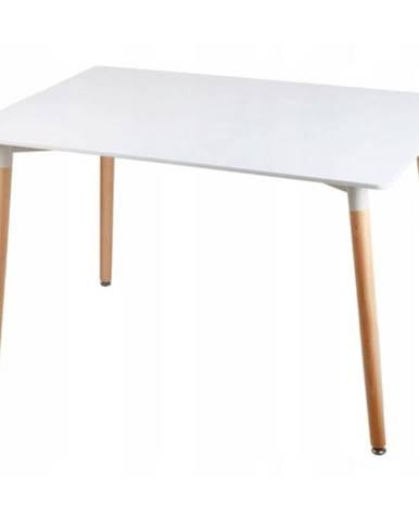 Stôl Bergen biely 120cm