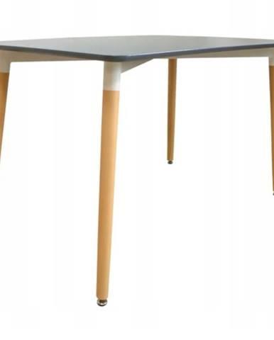 Stôl Bergen šedy 140cm