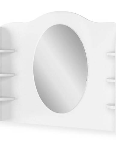 Toaletný stolík Luna LN-06 biely/ružové
