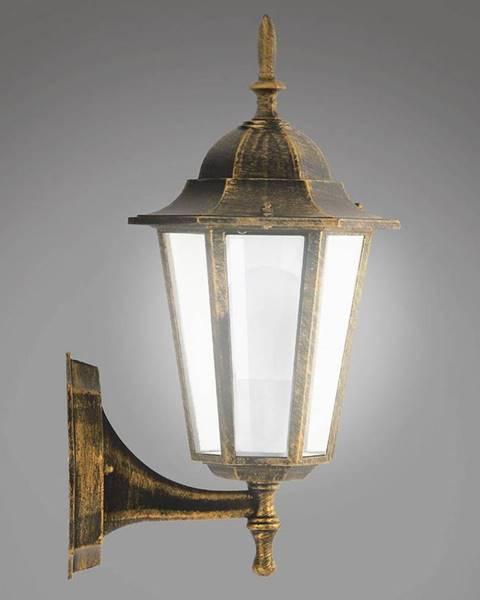 MERKURY MARKET Nastenná záhradná lampa Liguria 1047IP patina KG1