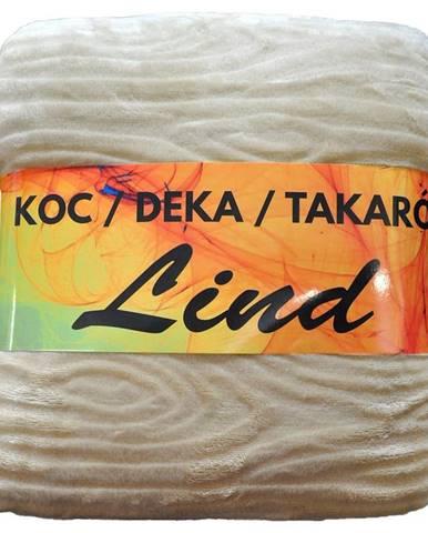 Deka Lind 130X170 krémová