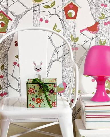 Stolná lampa 306173 Mini Del-1650 ružový LB1