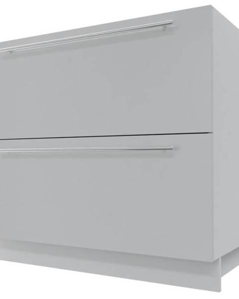 MERKURY MARKET Skrinka do kuchyne Essen grey D2M/90