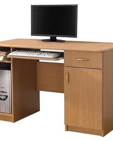 Písací stôl Max bez podstavca jelša