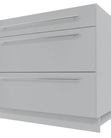 Skrinka do kuchyne Essen grey D3M/90