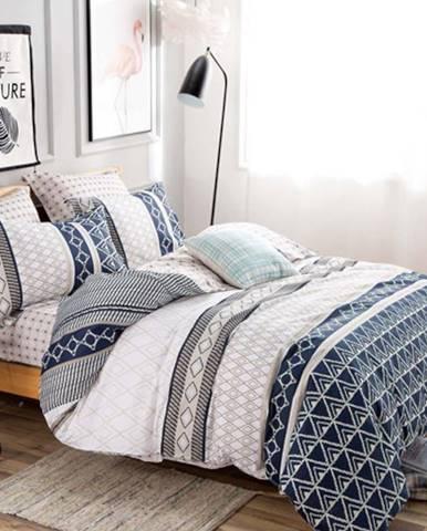 Bavlnená saténová posteľná bielizeň albs-01045/2 140x200 lasher