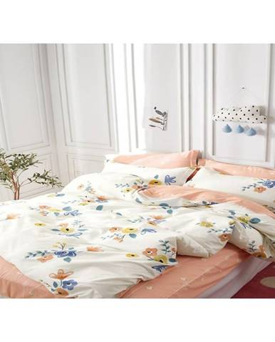 Bavlnená saténová posteľná bielizeň albs-01060b/2 140x200 lasher