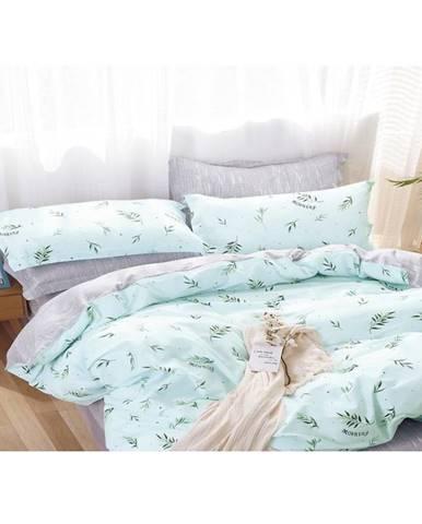 Bavlnená saténová posteľná bielizeň albs-01085b/2 140x200 lasher