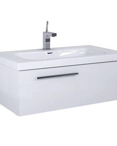 Kúpeľňová skrinka Royal 90 1S white