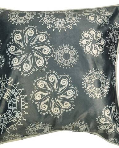 Obliečka na vankúš K22098 45x45 šedá