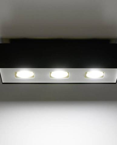 Stropná Lampa Atlanta 3 BLACK A-072