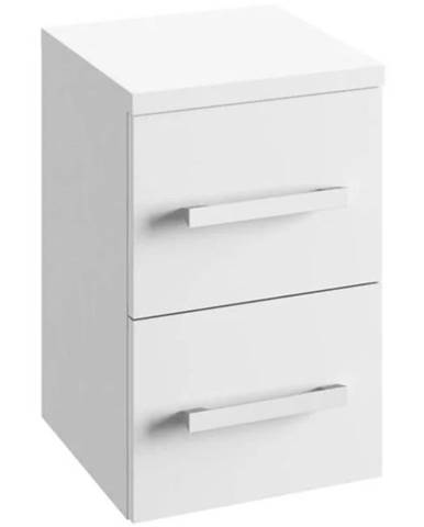 Závesná kúpeľňová skrinka Granada B32 OD2S biela
