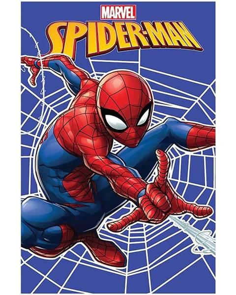 MERKURY MARKET Flísová  Deka  100x150  Spiderman  Web